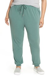 Caslon Plus Size Jogger Pants Green Duck