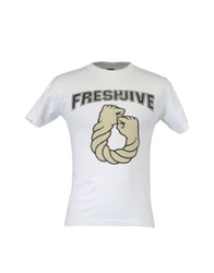Freshjive Short Sleeve T Shirts White