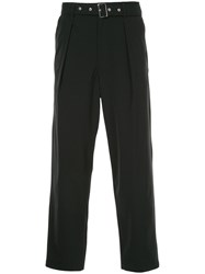 Guild Prime Belted Trousers Black