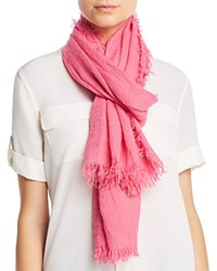 Fraas Solid Oblong Scarf Pink