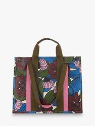 Orla Kiely Voltaire Canvas Tote Bag Mulberry