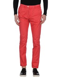 Scotch And Soda Trousers Casual Trousers Men Red