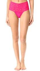 Hanky Panky Retro Thong Tickled Pink