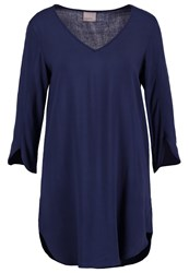 Vero Moda Vmboca Tunic Black Iris Dark Blue