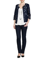 East Lace Jacket Navy