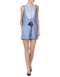 Sea New York Short Overalls Pastel Blue