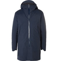 Arcteryx Veilance Arc'teryx Monitor Hell Hooded Down Coat Navy