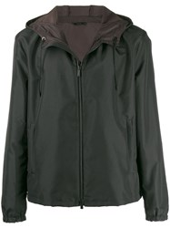 Fendi Diabolic Eyes Hooded Jacket Black