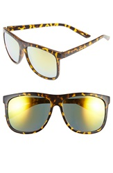Icon Eyewear 60Mm Aviator Sunglasses Tortoise