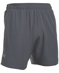 Under Armour Men's Coolswitch 7 Running Shorts Grey