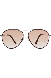 Tod's To0155 Aviator Sunglasses
