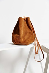 Kimchi And Blue Kimchi Blue Suede Bucket Crossbody Bag Brown