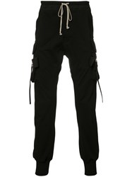Rick Owens Pocketed Trousers Black