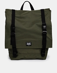 Asos Backpack With Straps Green