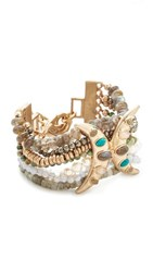 Lulu Frost Andalusia Bracelet Gold Multi