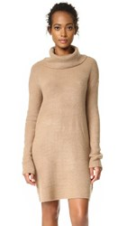 Bb Dakota Collins Sweater Dress Camel