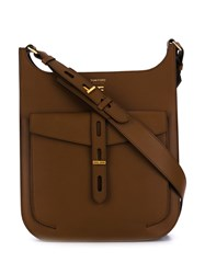 Tom Ford Cross Body Bag Brown