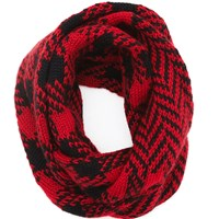 The North Circular Eternity Scarf Lumberjack Black