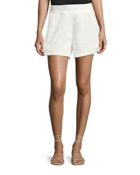 Bishop Young Ana Woven Pocket Shorts White
