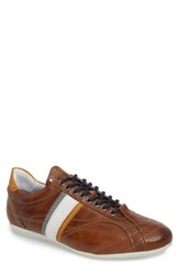Cycleur De Luxe Crush City Low Top Sneaker Cognac Leather