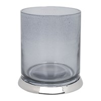 Amara Smoked Glass Toothbrush Holder