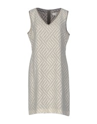 Gigue Short Dresses Ivory