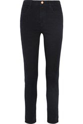J Brand Maria High Rise Skinny Jeans Midnight Blue