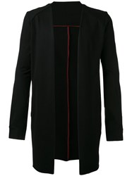 Devoa Long Cardigan Black