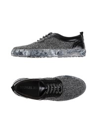 Manuel Ritz Lace Up Shoes Grey