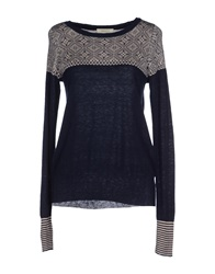 Sessun Sweaters Dark Blue
