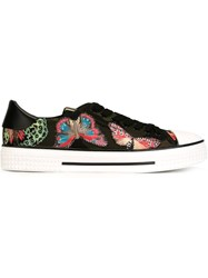 Valentino Garavani Butterfly Applique Sneakers Black
