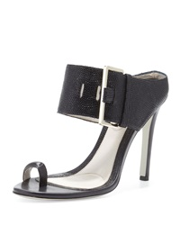 Jason Wu Buckled High Heel Slide Sandal 35.0B 5.0B