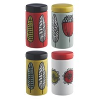 Habitat Freda Set Of 4 Spice Jars Multi Coloured