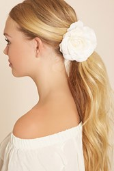 Forever 21 Faux Rose Hair Clip