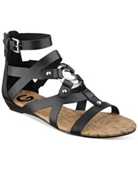 G By Guess Jackman Gladiator Sandals Women's Shoes Black