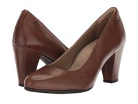 Hush Puppies Minam Meaghan Brown Leather High Heels