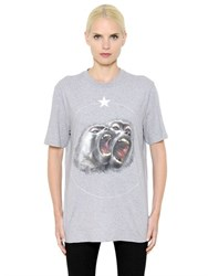 Givenchy Monkey Printed Cotton Jersey T Shirt