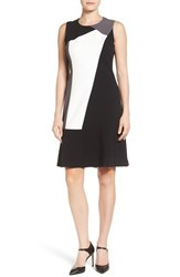 T Tahari Women's Aida Colorblock Dress