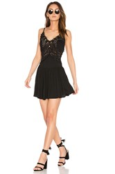 Cleobella Biarritz Short Dress Black