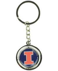 Aminco Illinois Fighting Illini Spinning Keychain