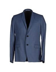 Bill Tornade Billtornade Suits And Jackets Blazers Men Slate Blue