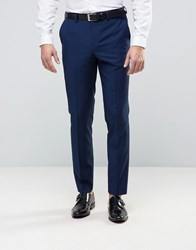 Burton Menswear Slim Suit Trouser In Navy Navy