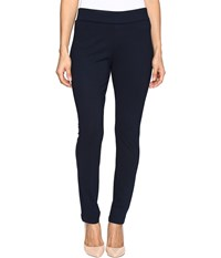 Nydj Petite Jodie Pull On Ponte Knit Legging Nightfall Women's Casual Pants Blue
