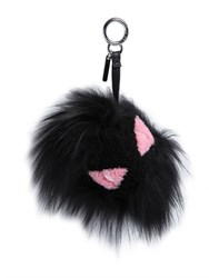 Fendi Bag Monster Shearling And Fox Fur Charm