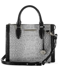 Brahmin Laelia Anywhere Convertible Satchel A Macy's Exclusive Style Black
