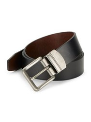 Fossil Reversible Leather Belt Black