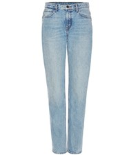 Helmut Lang Light Worn Boyfriend Jeans Blue