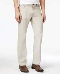 Alfani Men's Stretch Khaki Jeans Only At Macy's