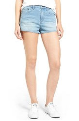 Women's Bp. High Rise Denim Shorts Light Indigo