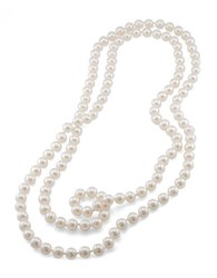 Carolee 10Mm 72 Inch White Pearl Rope Necklace